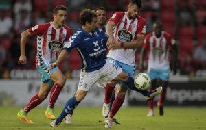 El Lugo cay� derrotado el martes en Copa ante el Tenerife. /