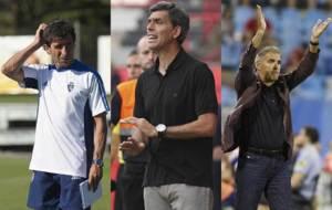 Luis Milla, Juan Ram�n L�pez Mu�iz y Paco Herrera, en pos del...