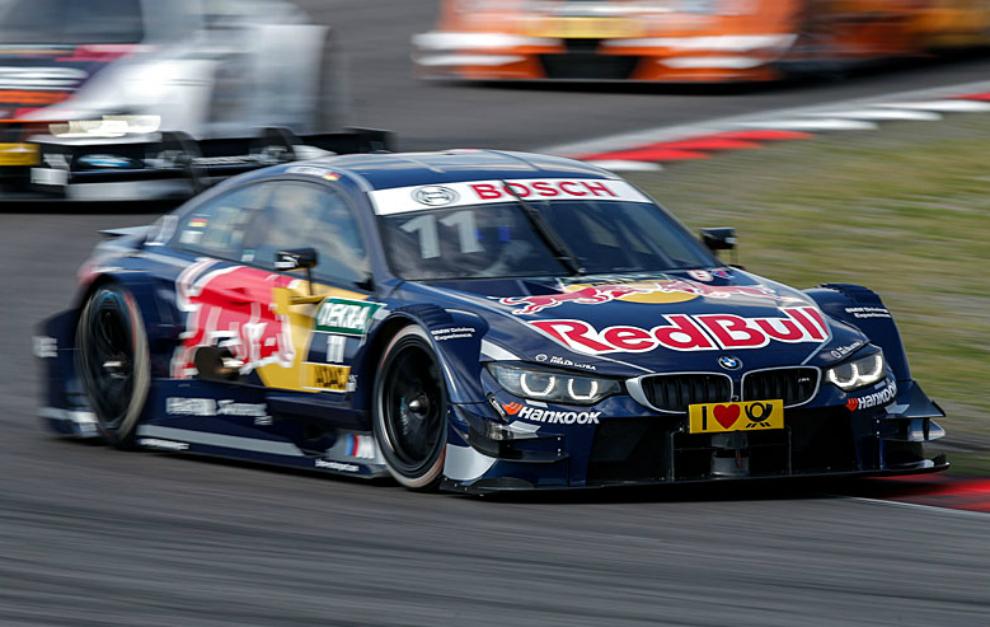 Wittmann en la carrera disputada en Nurburgring