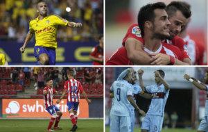 Ortu�o y Joselu siguen marcando, Longo suplente goleador y el Levante...