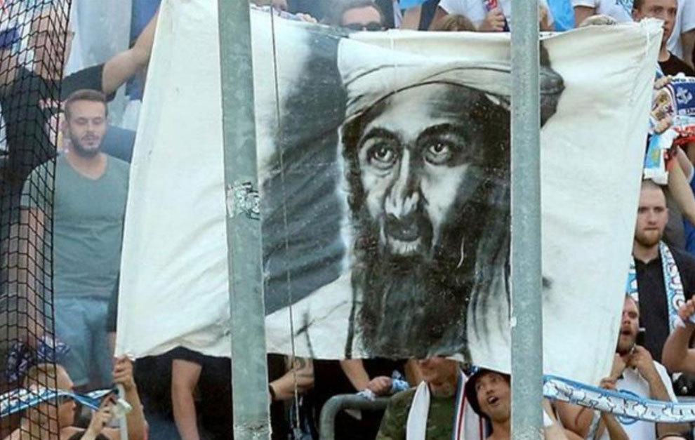 Hansa Rostock fans criticised for Bin Laden banner | MARCA ...