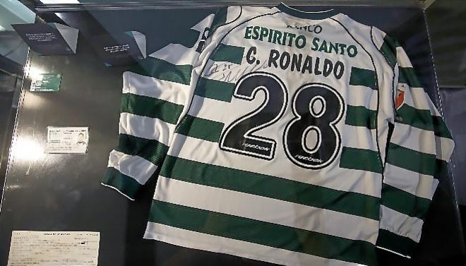 sporting lisbon ronaldo