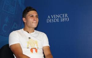 Quintero en una entrevista con Marca en 2014