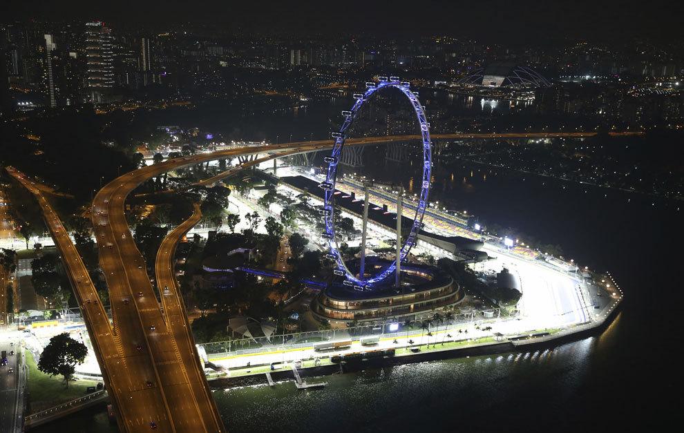 Circuito Callejero De Marina Bay : Gp singapur f los datos del gran premio de