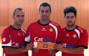 Salgado, Rub�n y L�pez ser�n los tres capitanes del Catgas este...