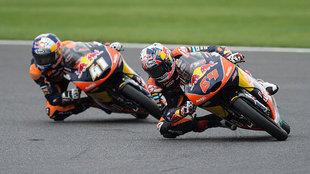 Bendsneyder seguirá en Moto3 con KTM Ajo y Binder subirá a Moto2