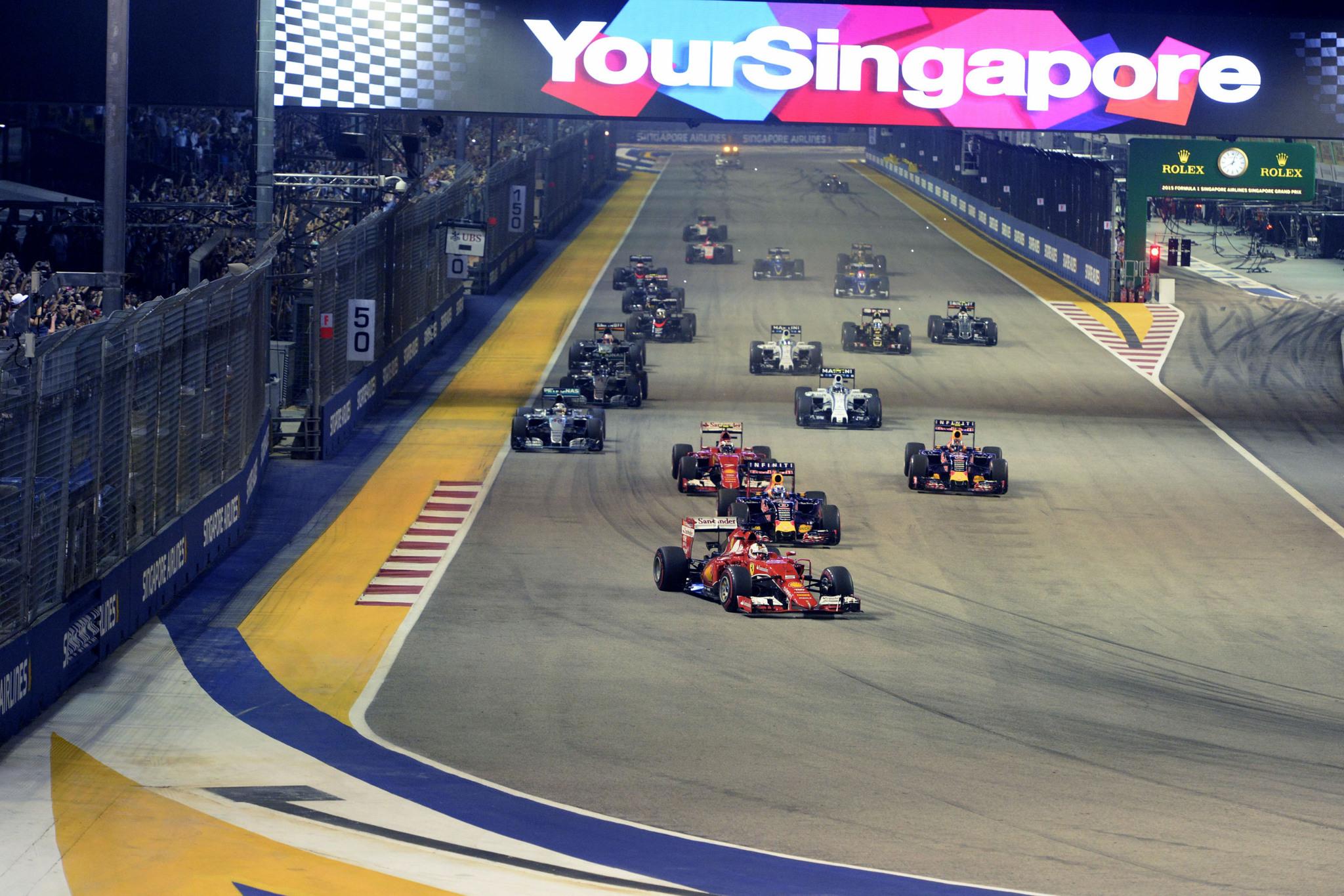 Circuito Singapur : Gp singapur f1 2016: los datos del gran premio de singapur marca.com