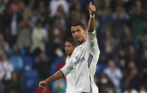 Cristiano Ronaldo tras el partido.