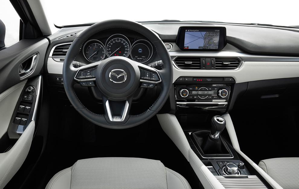 Mazda 6 2017 Puliendo Detalles Marca Com