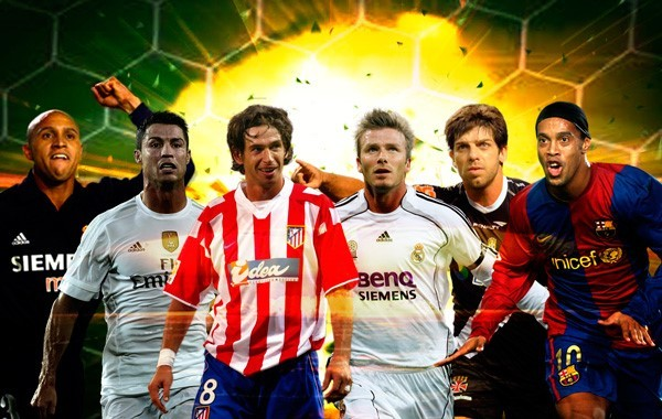 Beckham, Juninho, Koeman... los mejores goles de falta en momentos clave