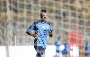 El madrile�o Aitor Sanz durante un entrenamiento en el Mundialito