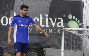 Leandro Cabrera se retira del entrenamiento del martes