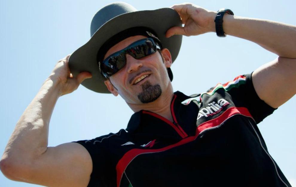 Max Biaggi, en Superbikes