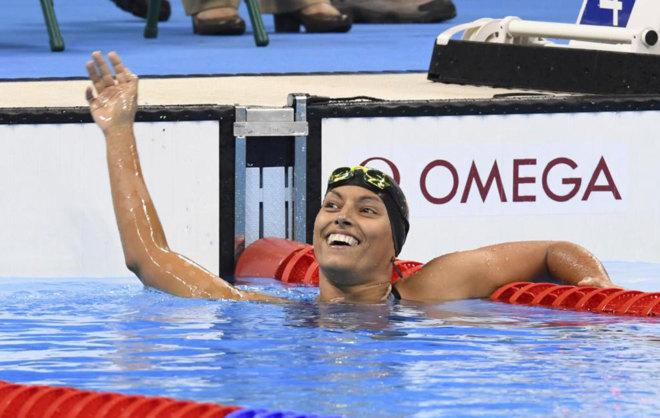 Teresa Perales en los Juegos Paralímpicos de Río