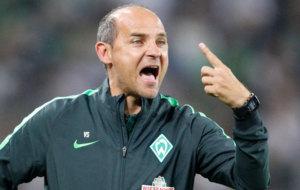 Viktor Skripnik, con el Werder Bremen.