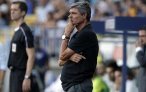 Juande Ramos en un partido de Liga.