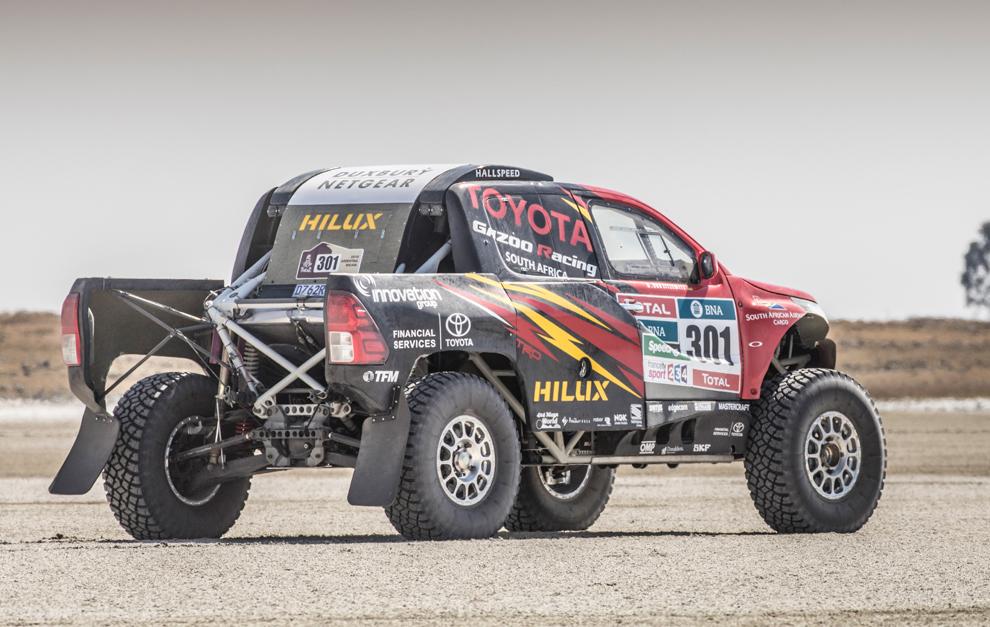 Rally Dakar El Toyota Hilux Evo Ya Vuela Marca Com