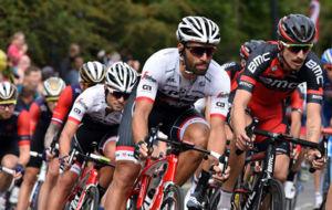Marco Coledan en la reciente Vuelta a Gran Breta�a.