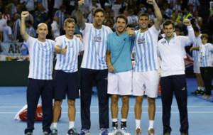 Argentina celebra su triunfo en Glasgow