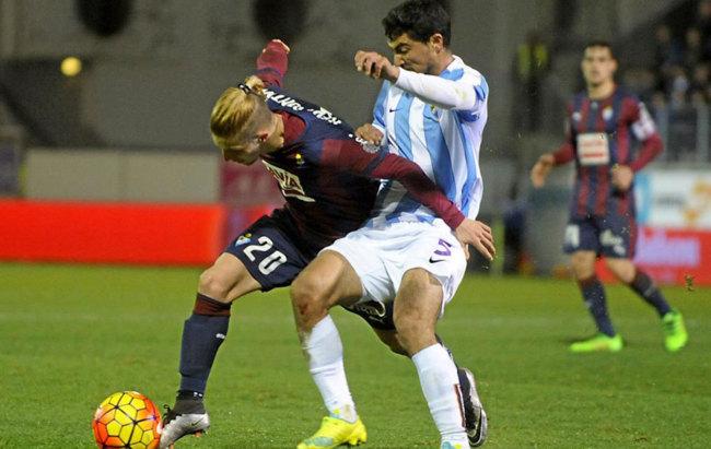 Málaga vs Eibar en directo
