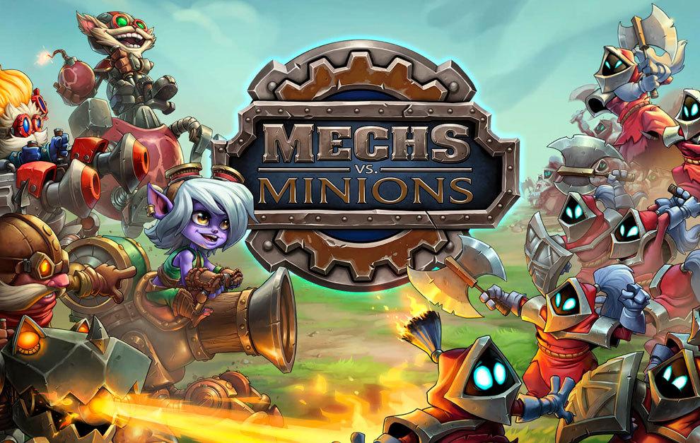 Esports Presentado Mechs Vs Minions El Juego De Mesa De Lol