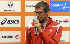 Pablo Villalobos, durante una presentaci�n.