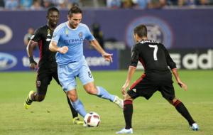 Lampard en un partido con el NY City