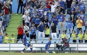 Entre Molina, goleador, y �lvaro, pasador, desataron la alegr�a del...