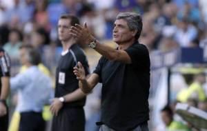 Juande Ramos durante el partido ante el Eibar