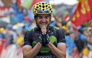 Ion Izagirre, en el Tour de Francia.