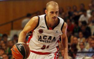 Andr�s Miso jugando con el UCAM Murcia