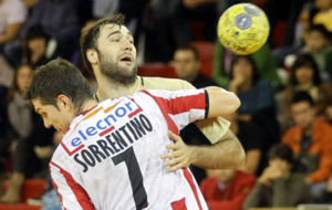 Alfredo Sorrentino con la camiseta del Fertiberia