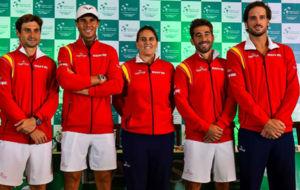 Ferrer, Nadal, Conchita, Marc y Feli L�pez