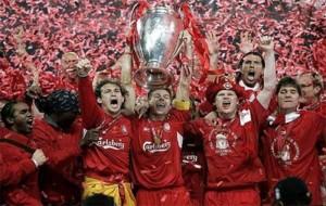 Josemi consgui� la Champions League en el a�o 2005 con el Liverpool.