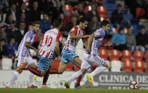 El Valladolid se qued� sin marcar en el Anxo Carro por tercer partido...