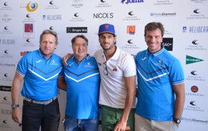 Bern Schuster, el doctor �ngel Mart�n, Feliciano L�pez  y Paco...