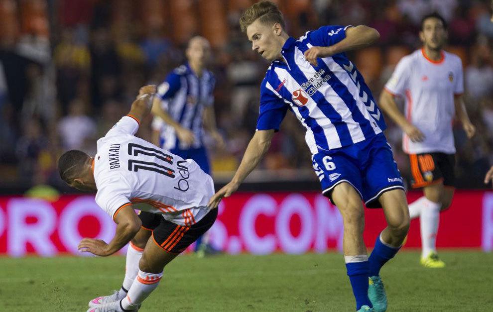 Marcos Llorente, en el partido ante el Valencia.