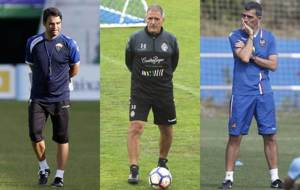 Alberto Toril (Elche), Paco Herrera (Valladolid) y Juan Ram�n L�pez...