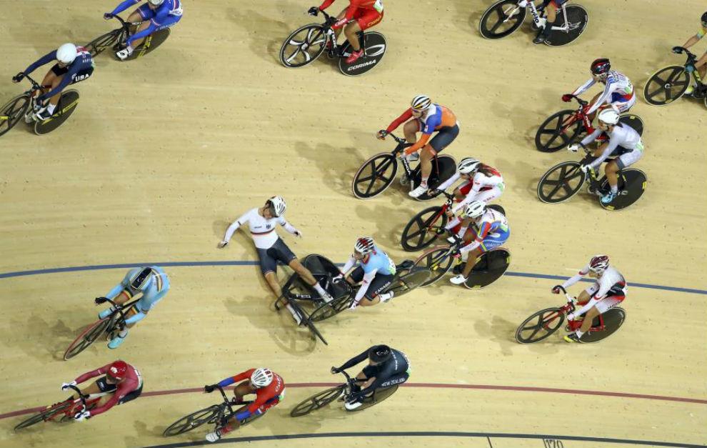 Una de las instantáneas de las pruebas de Río 2016.
