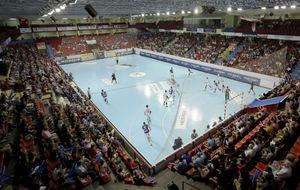 Panorama del Polideportivo Huerta del Rey en la primera jornada de la...