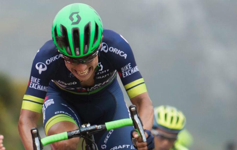 Chaves, durante la pasada Vuelta a España.
