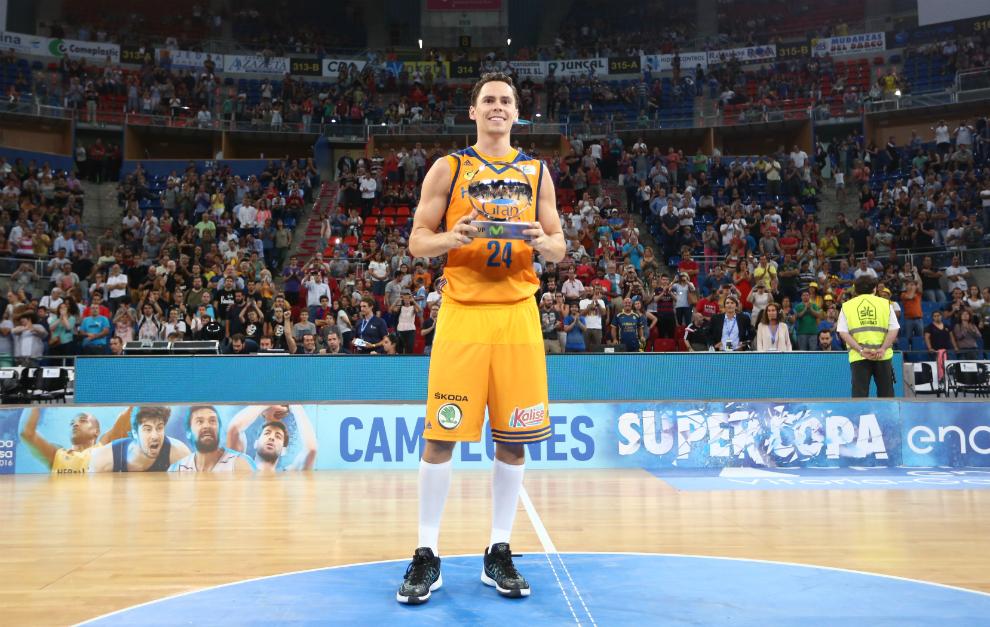 Kyle Kuric, el MVP de la Supercopa ACB