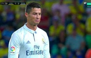 Cristiano Ronaldo es sustituido por Lucas V�zquez en el partido ante...