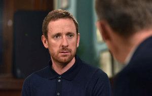 Bradley Wiggins speaks on the BBC's Andrew Marr Show.