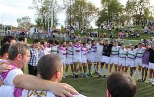 Una imagen del equipo franc�s