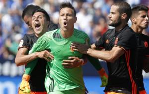 El Valencia se llev� la victoria de Butarque y Diego Alves bati� el...