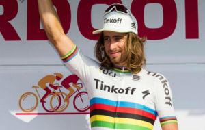Peter Sagan en el Eneco Tour.