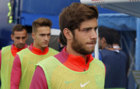 Sergi Roberto before the match against Leganes.