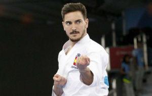 Dami�n Quintero, durante los Juegos Europeos de Bak�, en 2015.