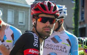 Tom Dumoulin, en el Eneco Tour que ha acabado en cuarta posici�n.